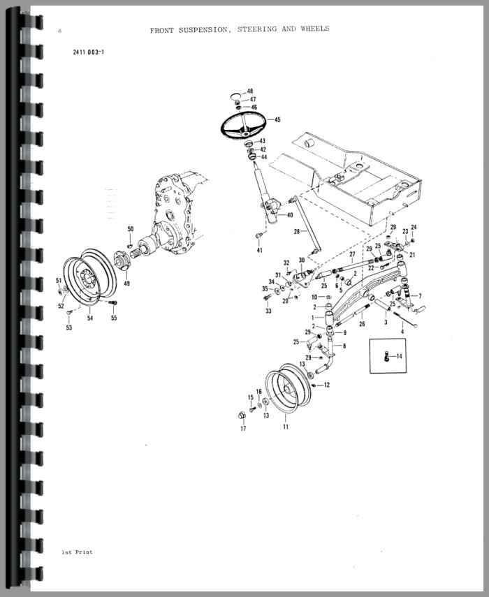 Massey Ferguson 2615 Service Manual