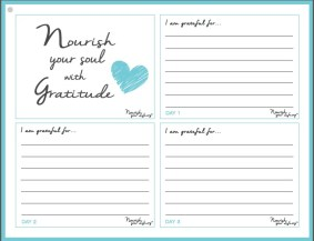Nourish Your Soul with Gratitude- Journal of Thanksgiving