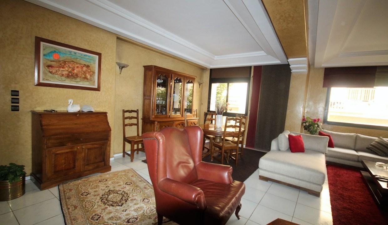 coquet appartement lumineux de 3 chambres salon avec placards et cheminée (insert)