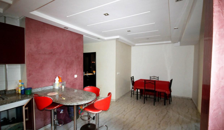 Bourgogne proche Bld Zerktouni à acheter appartement de 93 m² 2 chambres rénové avec gout