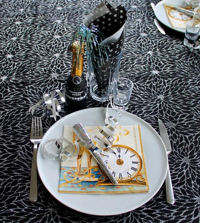 table du nouvel an