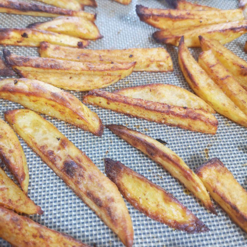frites saines sans friture