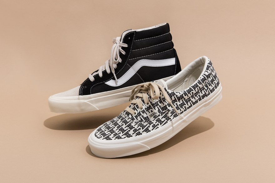 vans x fear of god buy