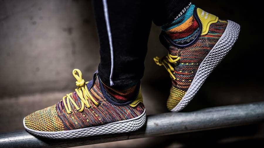 The adidas x Pharrell another partnership takes another Pharrell step with a