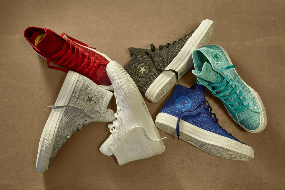 4233ee5f6c97 Converse Unveils Chuck Taylor Nike Flyknit Collection