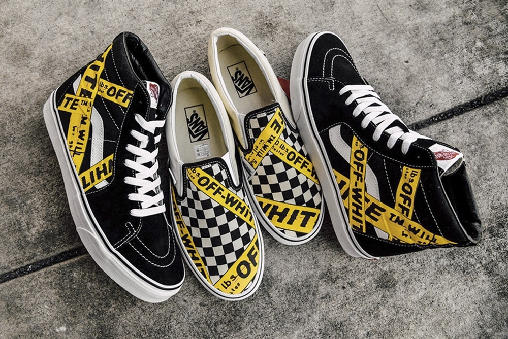 be4d39354a AMAC drops an OFF-WHITE x Vans Custom Collection