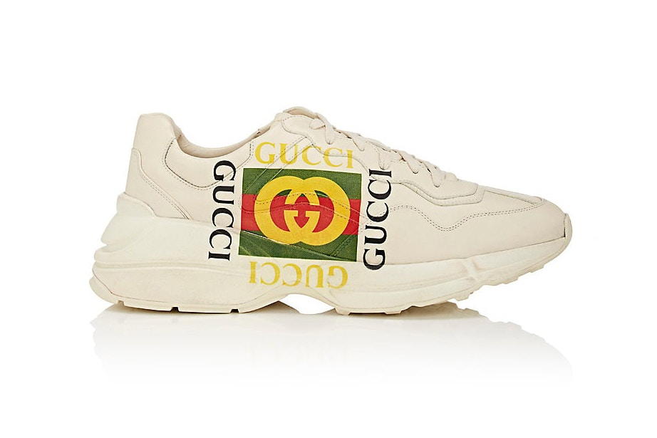 Gucci Embraces the Chunky Sneaker Fad with Its New Apollo Sneaker
