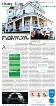 Mise en page / Journal Le Mouton noir /