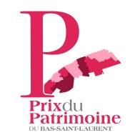 Logo du prix du patrimoine / Conseil de la culture du Bas-St-Laurent
