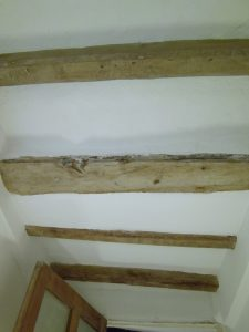 Blyton - completed beams