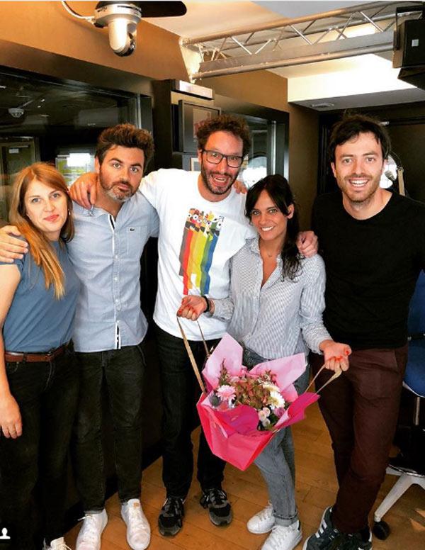 Manu Dans Le 6/9 Equipe : equipe, Départ, Laure, (NRJ), Absente, Rentrée, People, Cinéma, Nouveautes-Tele.com