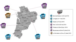 La calendrier des tournois 3×3 en Nouvelle-Aquitaine