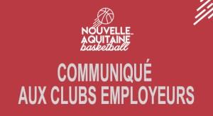 Soutien aux clubs employeurs (délai 30 sept.)
