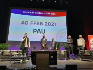 L'AG FFBB 2021 sera à PAU ! …