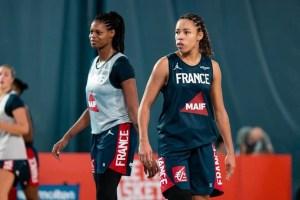 Six joueuses, issues de Nouvelle-Aquitaine, en stage avec les Equipes de France