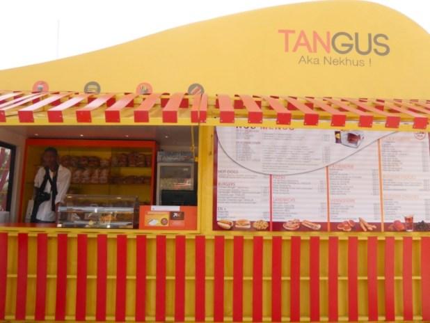 Un des premiers points chauds Tangus ouvrira ses portes lundi 25 avril. Photo P.B.