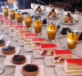 Le coin des desserts. Photo Pauline Bouveau