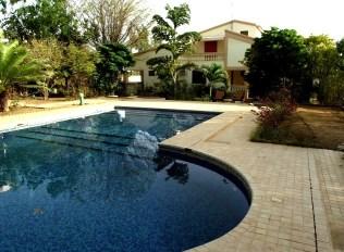 Les clients peuvent profiter de l'espace piscine pour se rafraîchir durant leur séjour. Photo DR