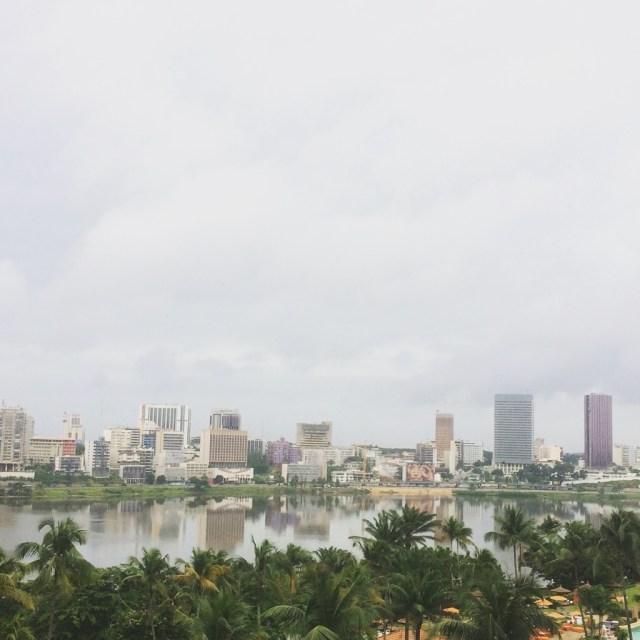 Quartier du Plateau - Abidjan. Photo PB