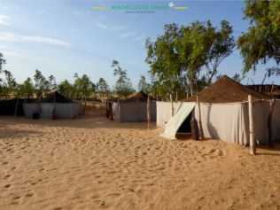 "Camp ""rêve de nomade"""