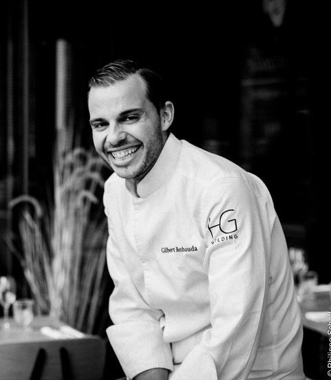 Chef Gilbert Benhouda - restaurant Sapristi @PhilippeSchaff