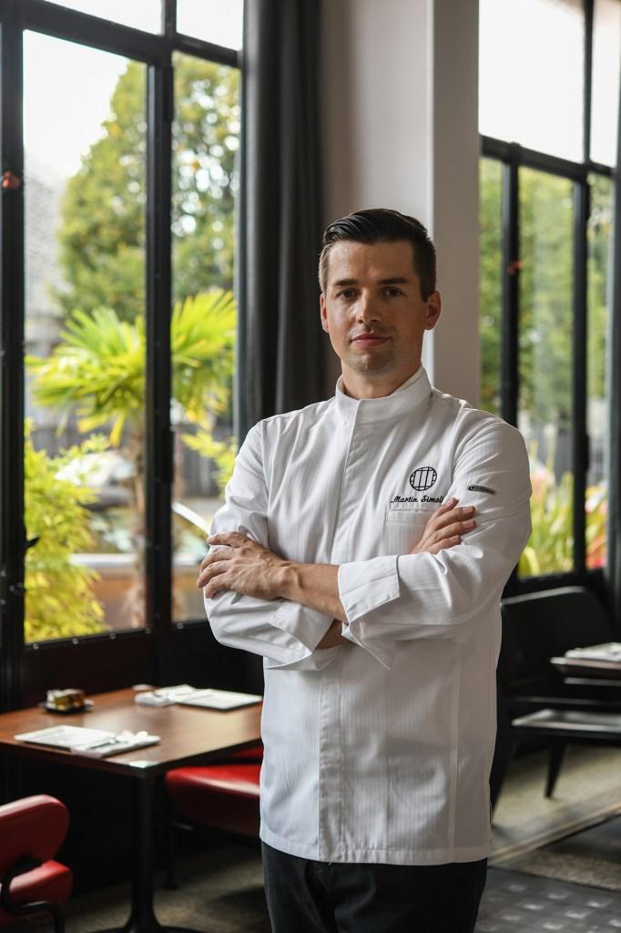 Le chef Martin Simolka rejoint les cuisines du Molitor © GeraldineMartens
