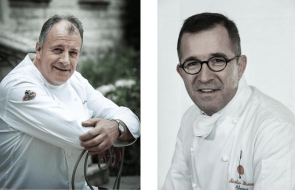 Nicolas Stamm et Patrick Henriroux