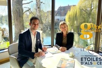 Edouard Baumann et Sandrine Kauffer-Binz