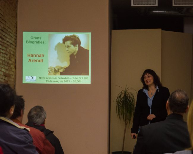 Sabadell Hannah Arendt
