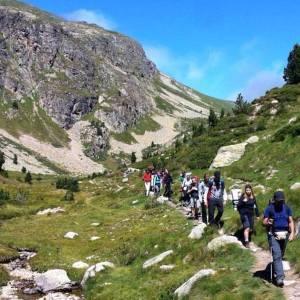 Nova Acròpolis Barcelona tanca l'estic amb una excursió ecològica al Pirineu