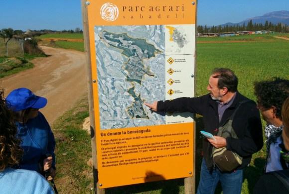 """Visitamos el camino de Mas Canals con el proyecto ecológico """"Heket"""""""