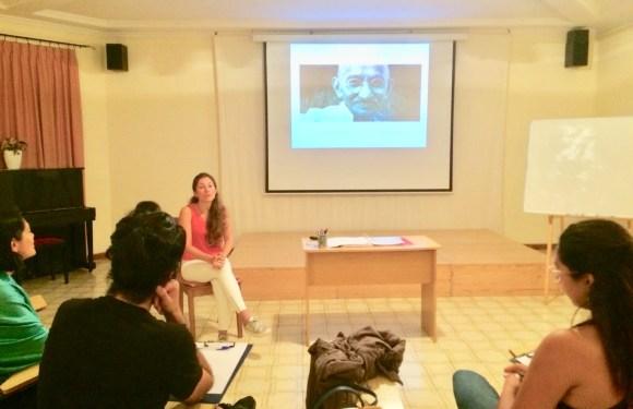 Enseñanzas de Mahatma Ghandi en Nueva Acrópolis Barcelona