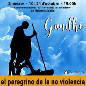 Ensenyaments de Mahatma Gandhi a Nova Acròpolis Barcelona