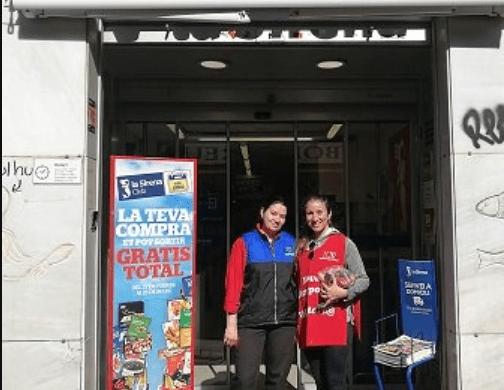 La empresa La sirena, amplía su participación en el proyecto Mercat Solidari de Nueva Acrópolis Barcelona