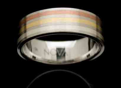 Stainless Steel Gold Ring-rs2wyr