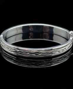 Sterling Silver Nova Wirewrap Design Bracelet (BR49)
