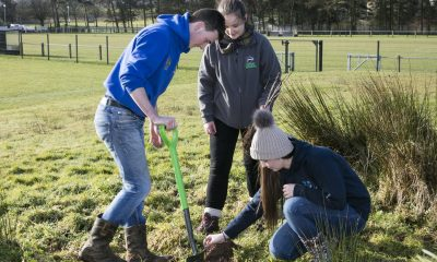 Young Farmers Get Digging