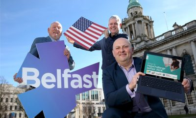 Councillor Jeffrey Dudgeon, Deputy Chairperson of Belfast City Council's City Growth and Regeneration Committee, John Knapton, Catalyst Inc's Director of Springboard and Glenn Patterson, Entrepreneurship Solutions Manager, Invest Northern Ireland, are looking for 10 Belfast-based high growth start-up companies to participate in the first ever Bridge to MassChallenge Belfast international competition, which will provide tailored training and workshops in Boston this June, one on one mentorship from top international experts, networking opportunities and unique access to Boston and MassChallenge's business networks.