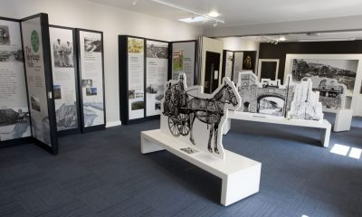 Carnlough's new £100k Heritage Hub officially opens