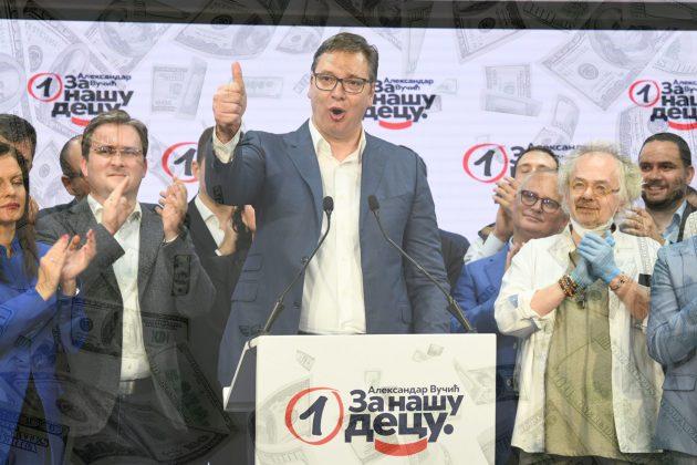 """MASKE SU PALE:""""Nije Vučić genije u propagandi, on čita istraživanja"""" 1"""