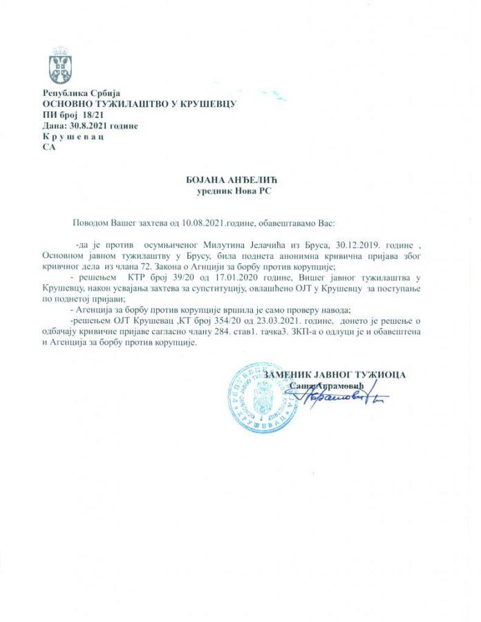 JOŠ ĆE DA NAS VOLKA I LJUPKA: Tužilaštvo sačuvalo Jutku od zatvora, produžilo mu politički život! 2