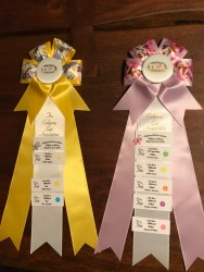 First Show Ribbons