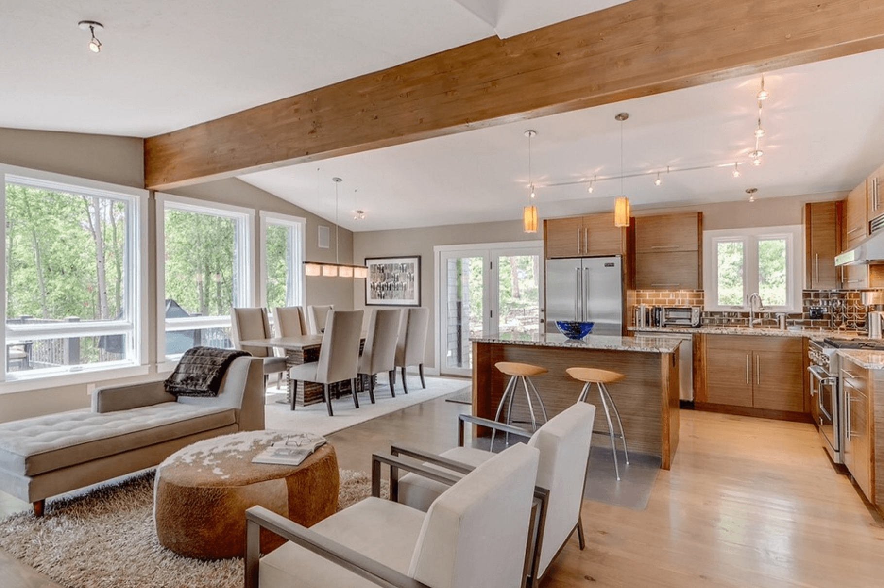 4 Simple Ways To Stage An Open Floor Plan