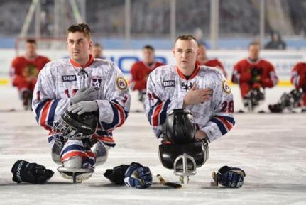 USA Warrios Sled Team