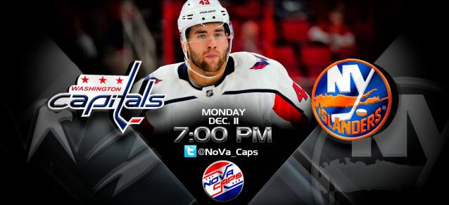 Capitals @ Islanders Graphic