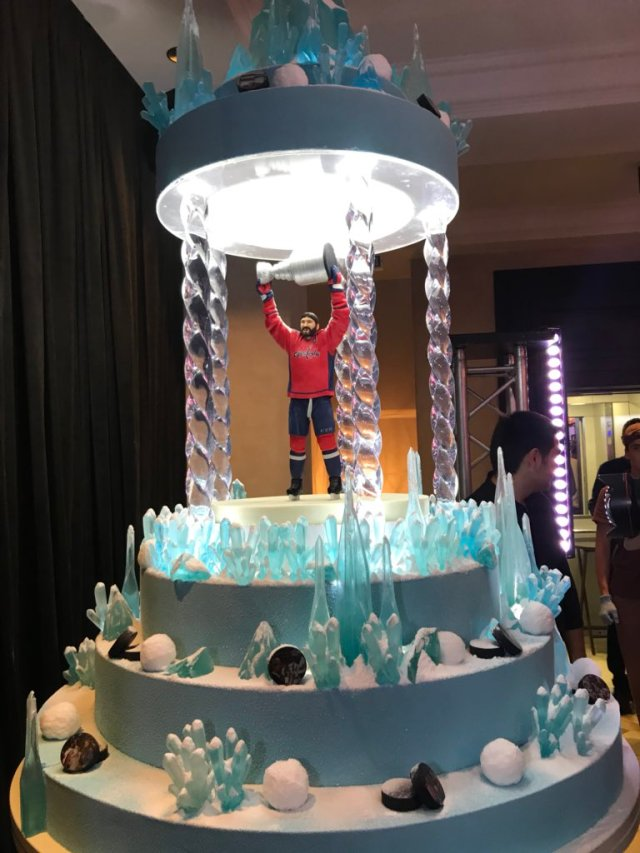 Ovi Stanley Cup Cake