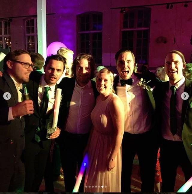 Reception Guests at MoJo Wedding