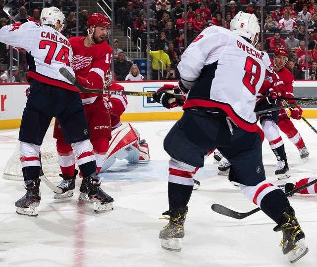 Ovechkin Goal #1 Detroit