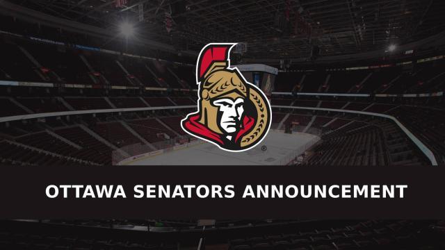 Senators website