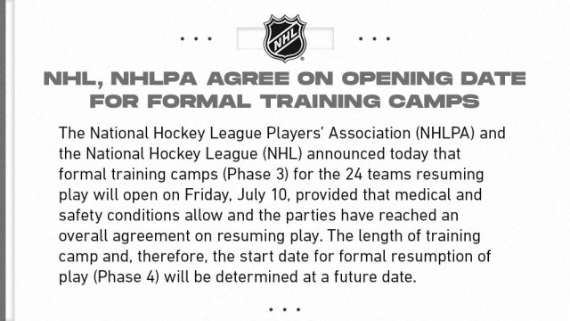 NHL PR